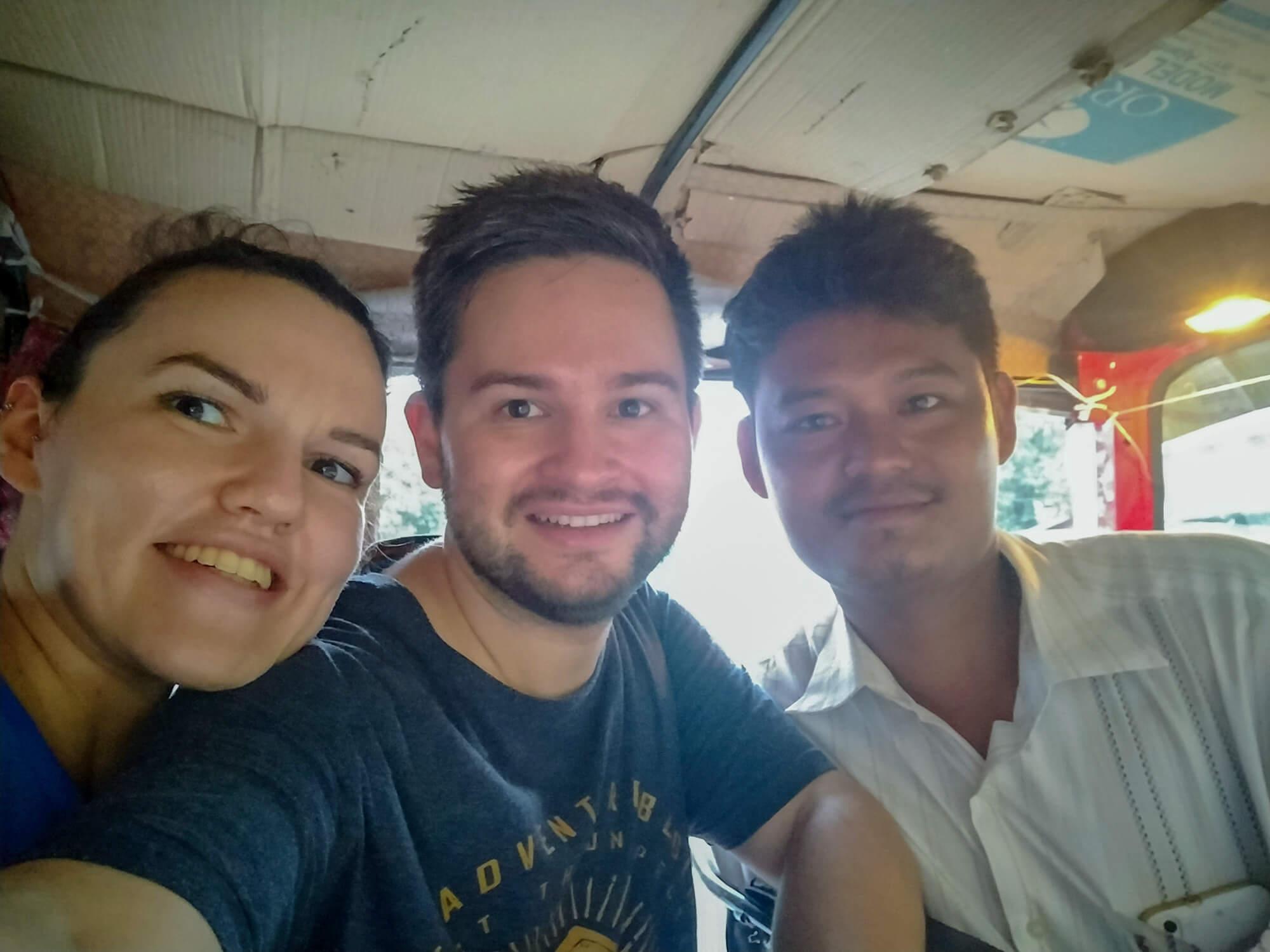 Toudy, notre chauffeur de tuktuk à Mandalay
