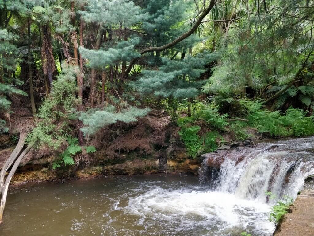 La Kerosene Creek et son ambiance étrange
