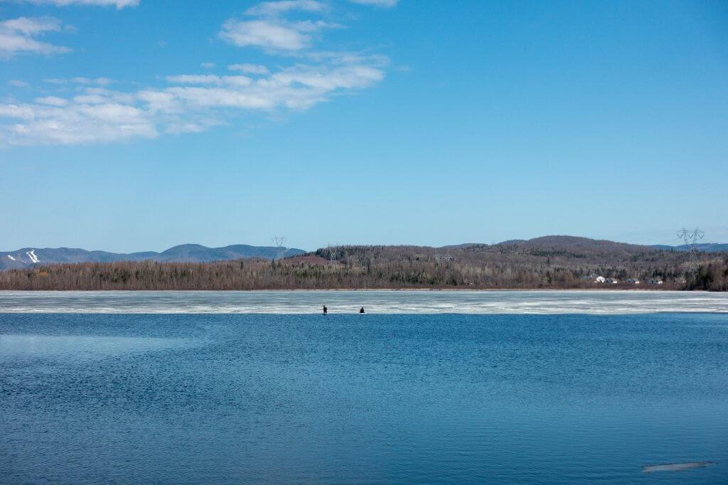 Faire du paddle et être bloqué par la glace